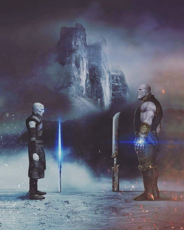 The Night King vs Thanos
