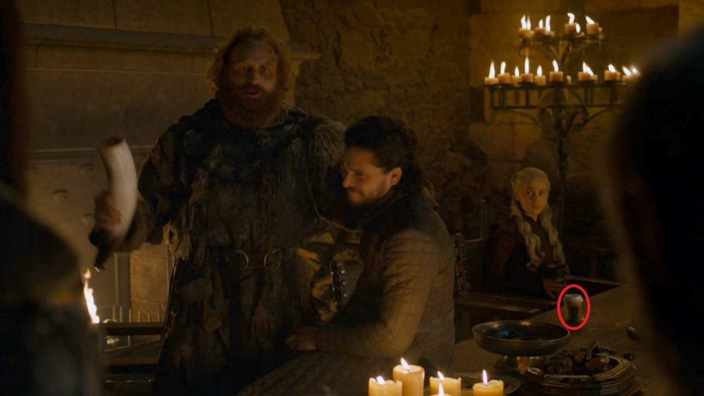 Game of Thrones S08E05 The Last of the Starks Starbucks Cup