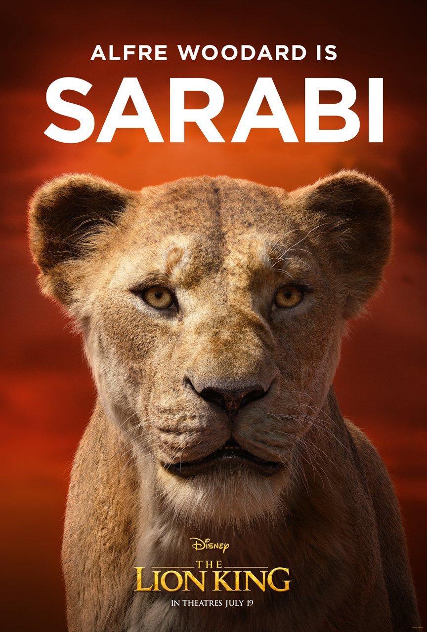 The Lion King Character Poster 07 - Alfre Woodard Is Sarabi