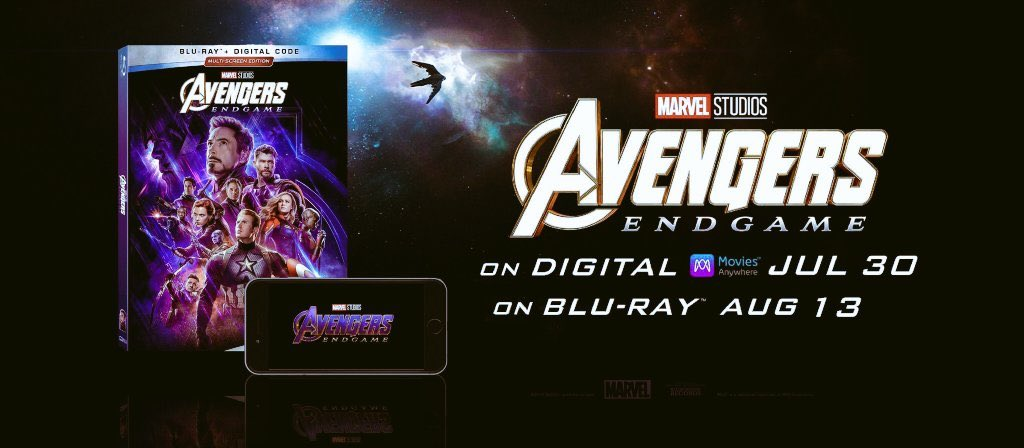 Avengers Endgame Blu-Ray Digital Download Release Date