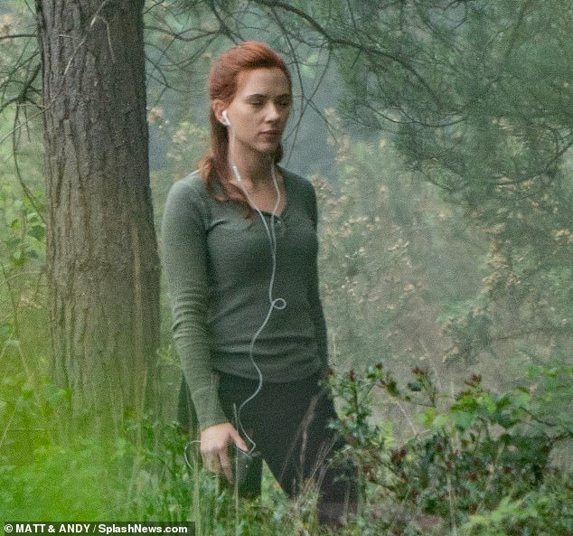 Black Widow Movie Pinewood Studios Set Photo 26