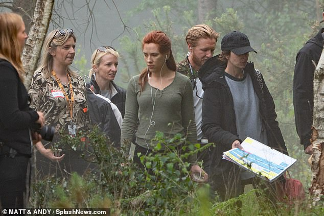 Black Widow Movie Pinewood Studios Set Photo 30