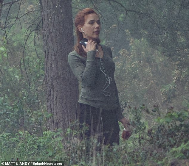 Black Widow Movie Pinewood Studios Set Photo 33