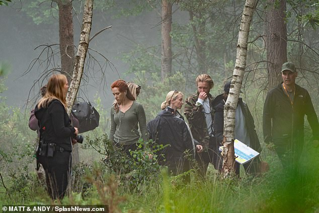Black Widow Movie Pinewood Studios Set Photo 35