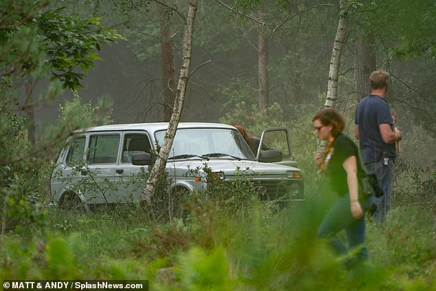 Black Widow Movie Pinewood Studios Set Photo 43