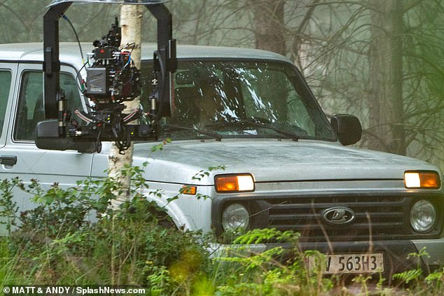 Black Widow Movie Pinewood Studios Set Photo 44
