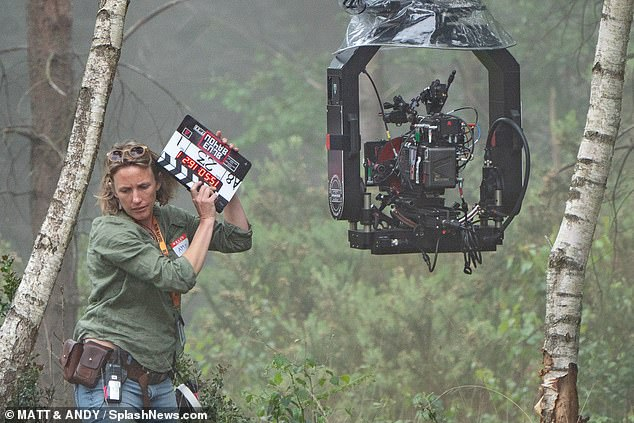Black Widow Movie Pinewood Studios Set Photo 47