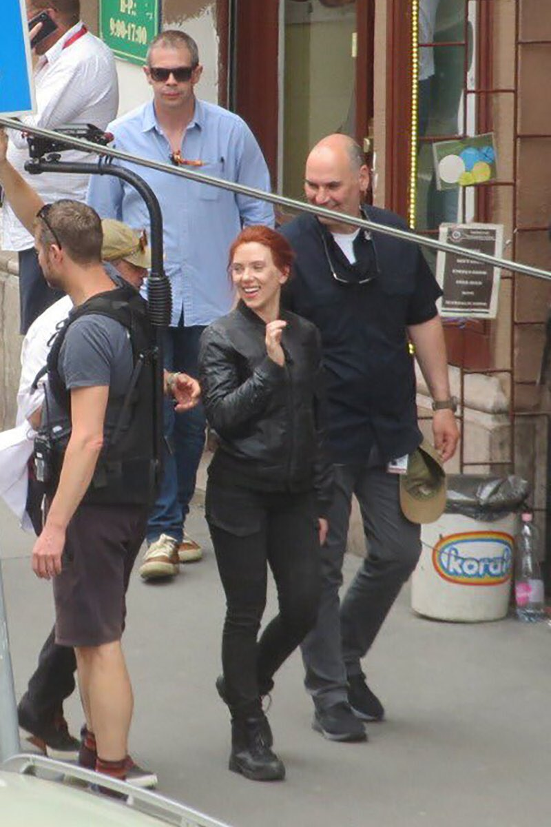 Black Widow Movie Set Photo 51