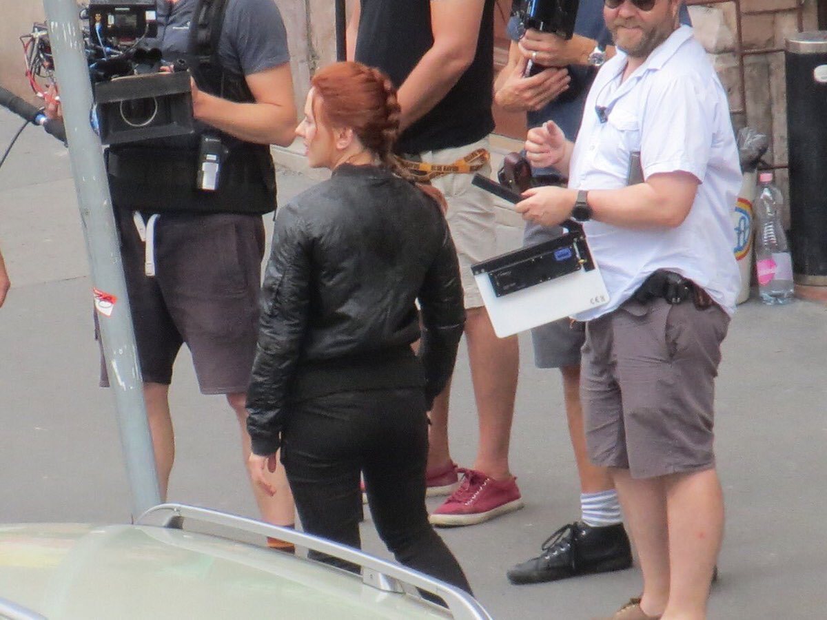 Black Widow Movie Set Photo 53