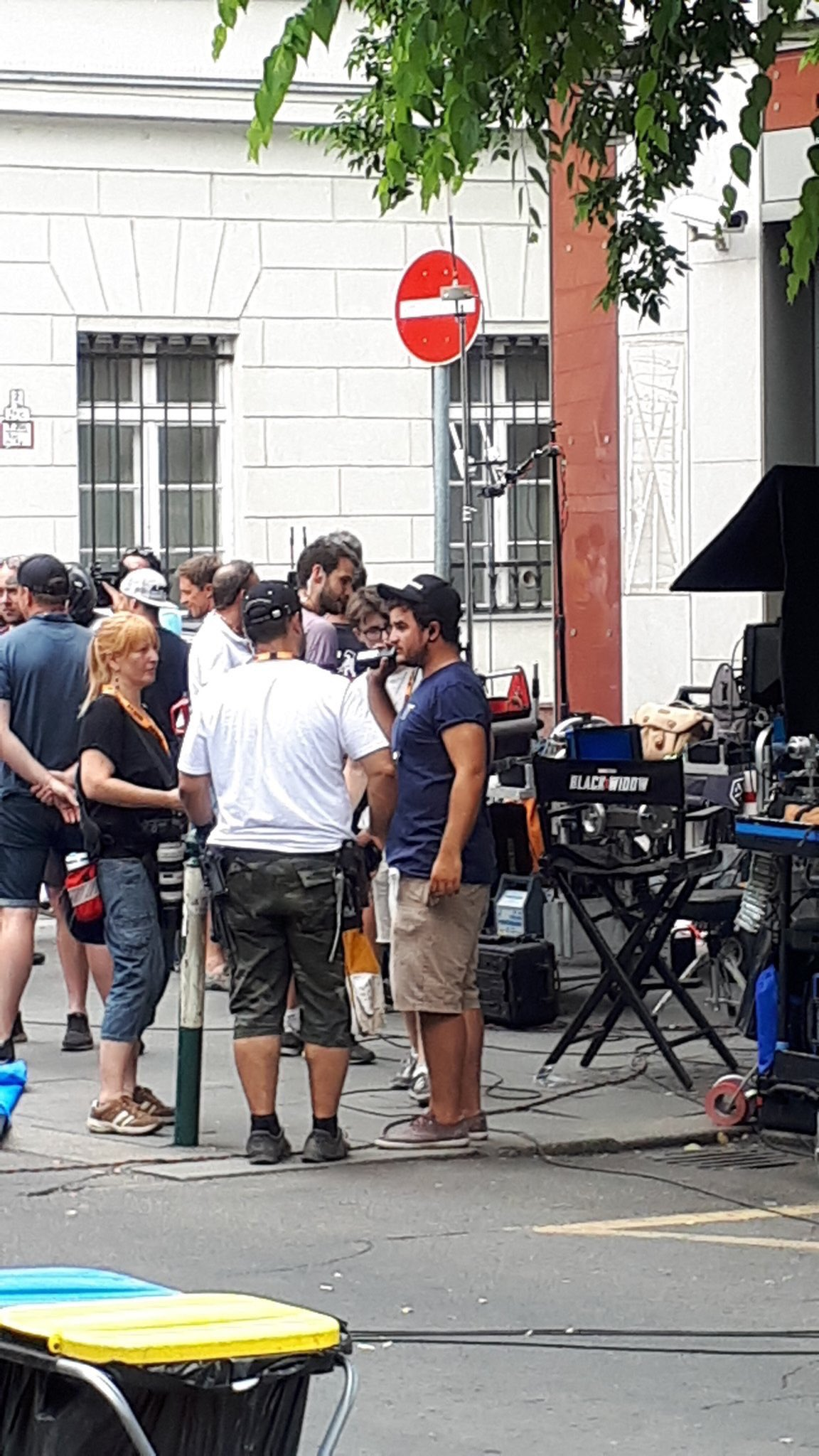 Black Widow Movie Set Photo 56