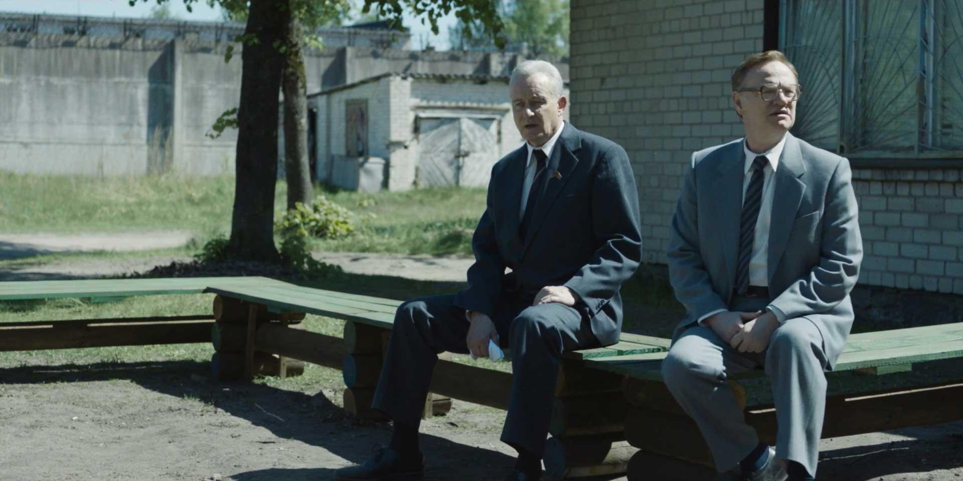 Chernobyl S1E5 Stellan Skarsgard Jared Harris