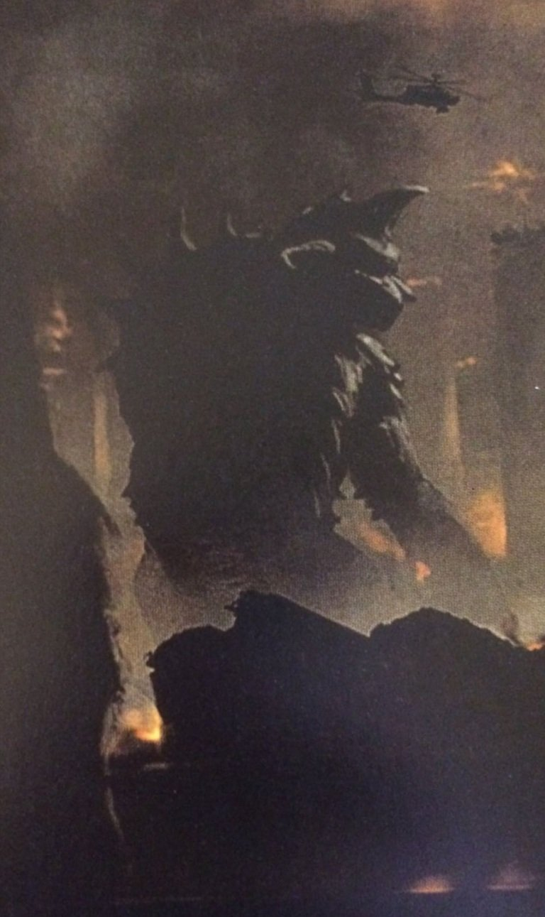 Godzilla 2 King of the Monsters Concept Art Gigan