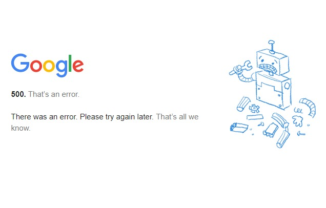 Google Is Down