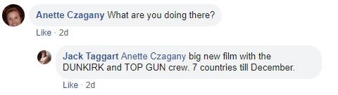 Jack Taggart Facebook