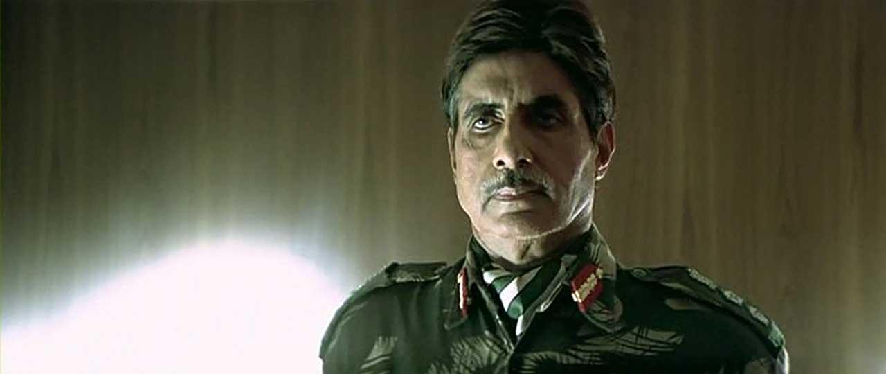 Lakshya Still Amitabh Bachchan Colonel Damle