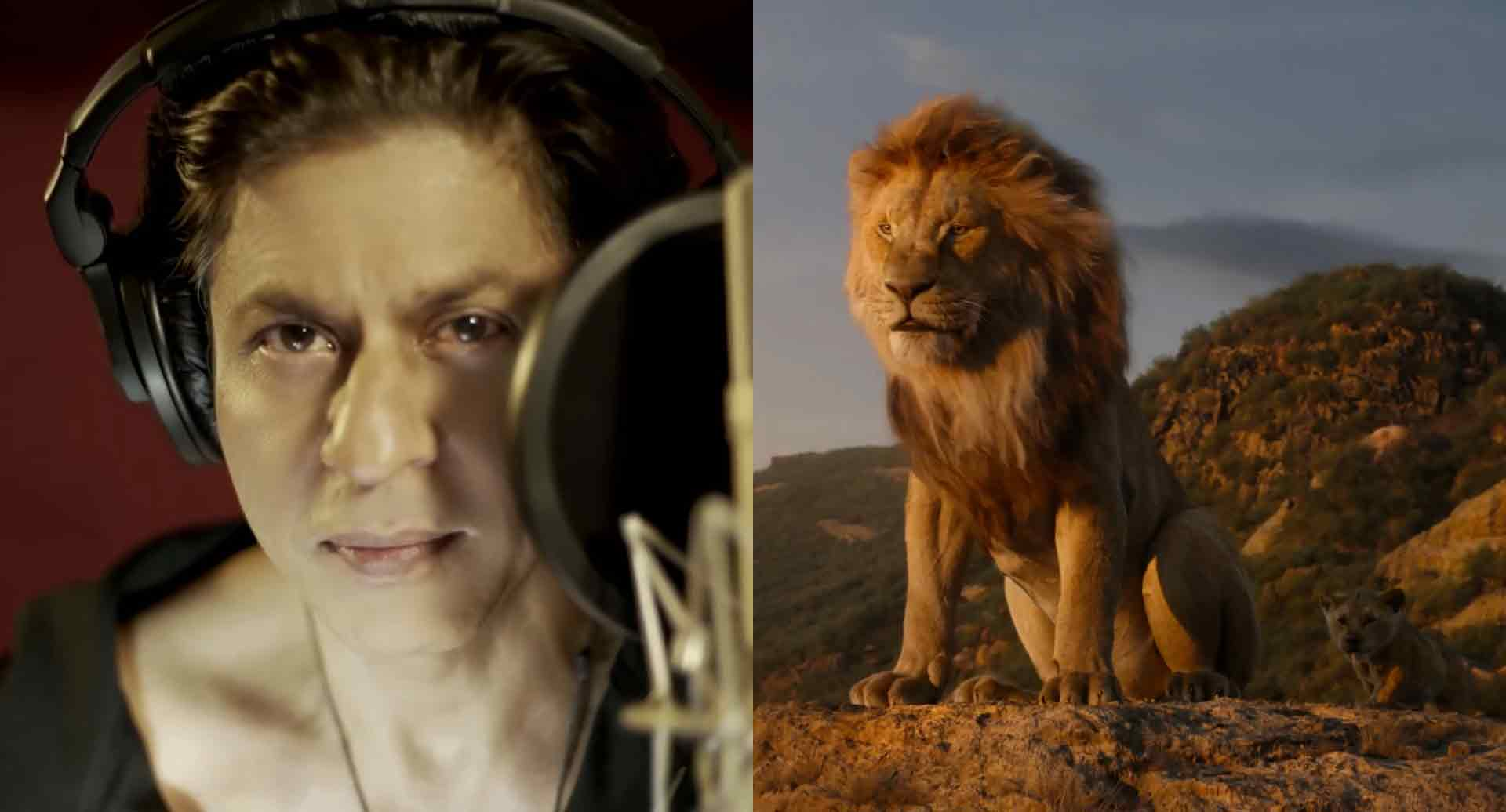 Image result for king khan ,aryan and the lion king movie images
