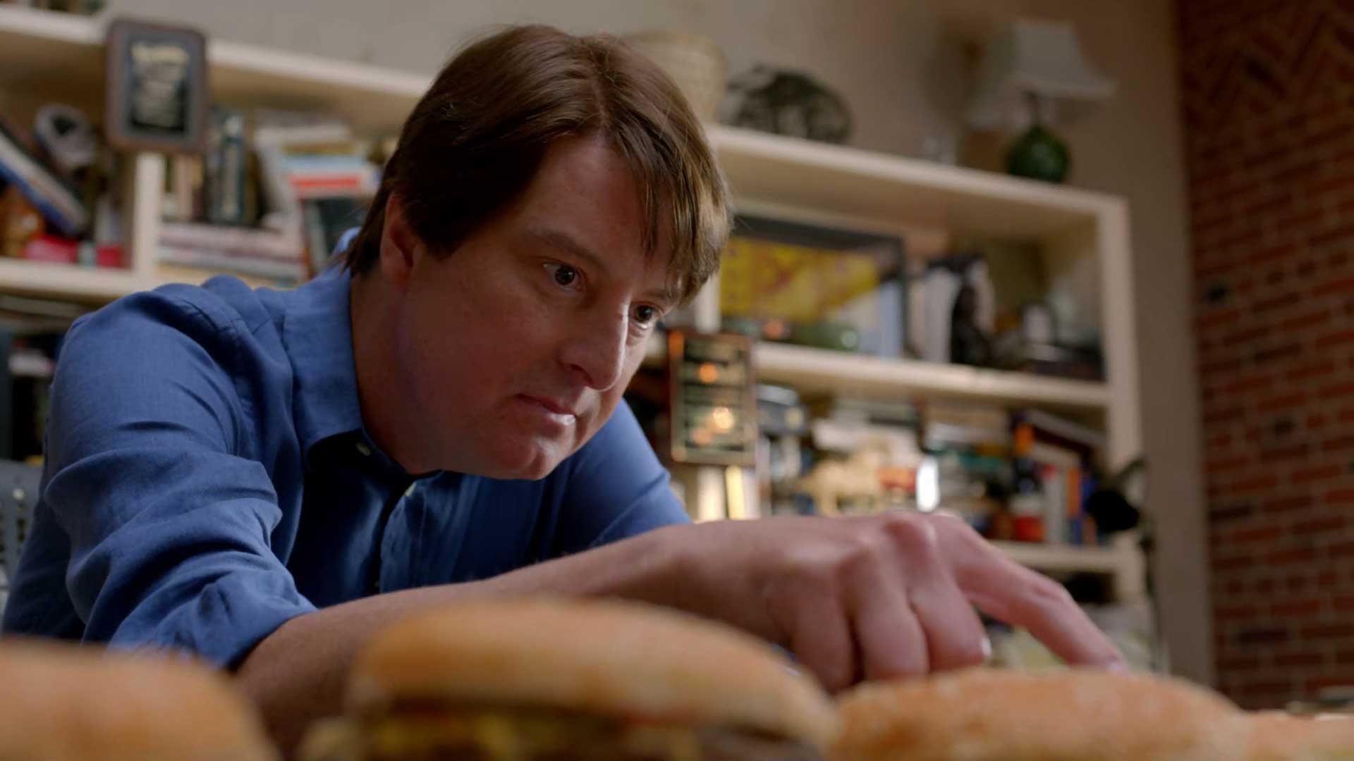 Silicon Valley S1E3 Peter Gregory Burger King