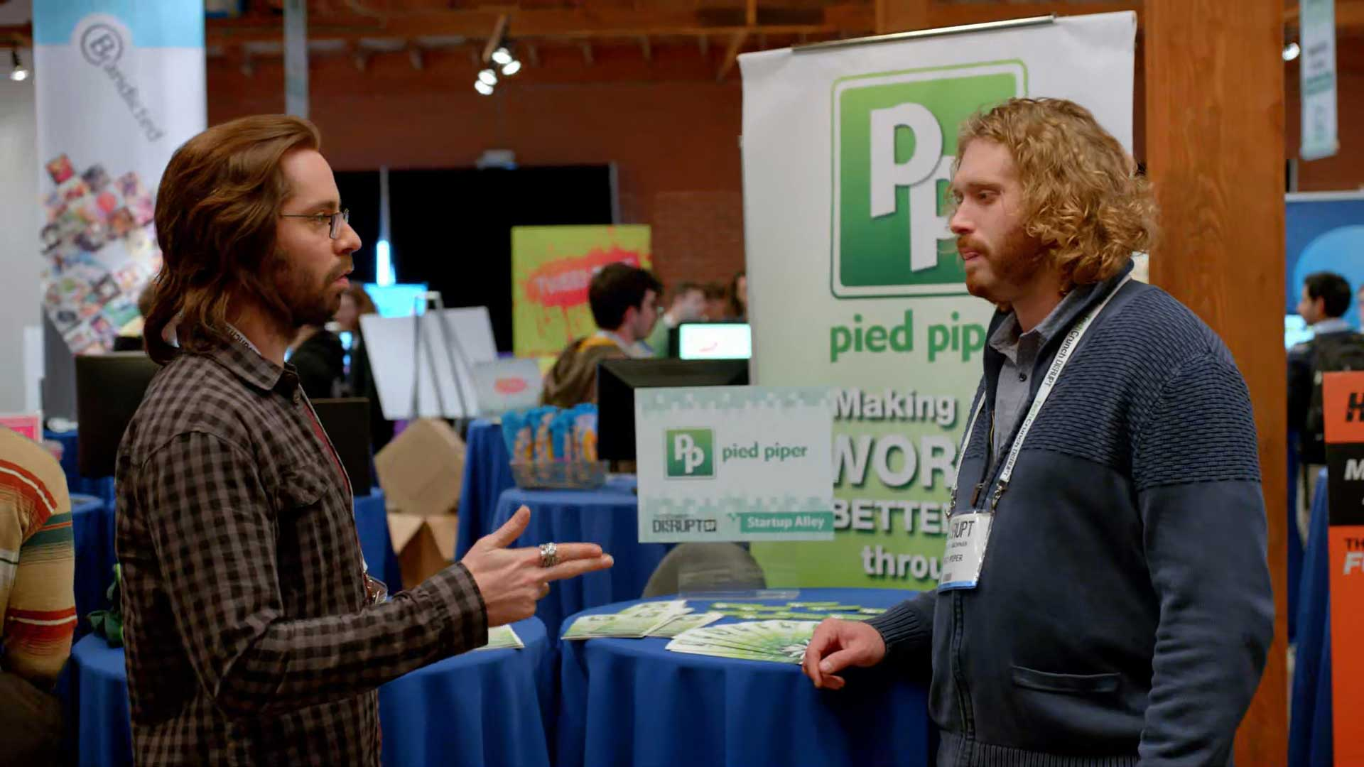 Silicon Valley S1E7 Pied Piper Startup Battlefield