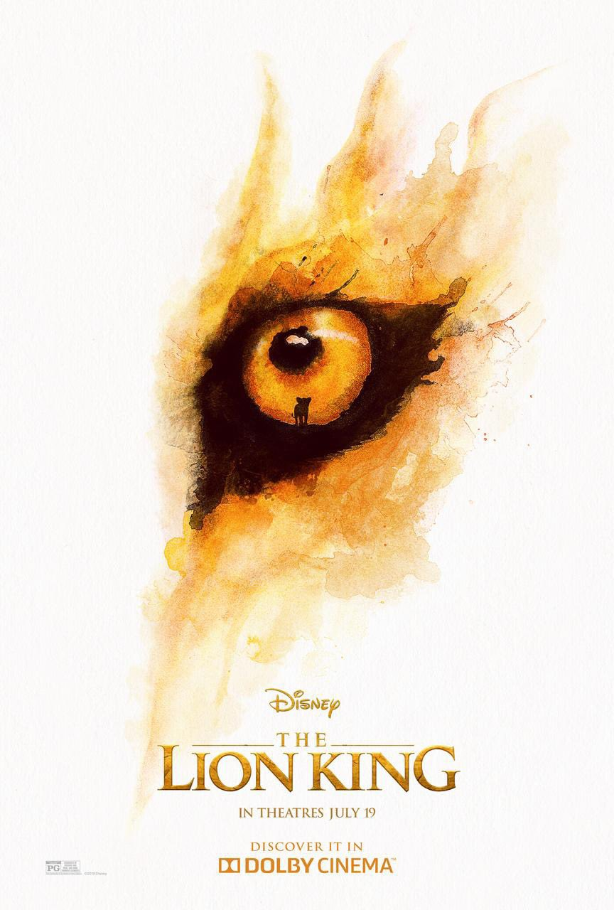 The Lion King Dolby Poster