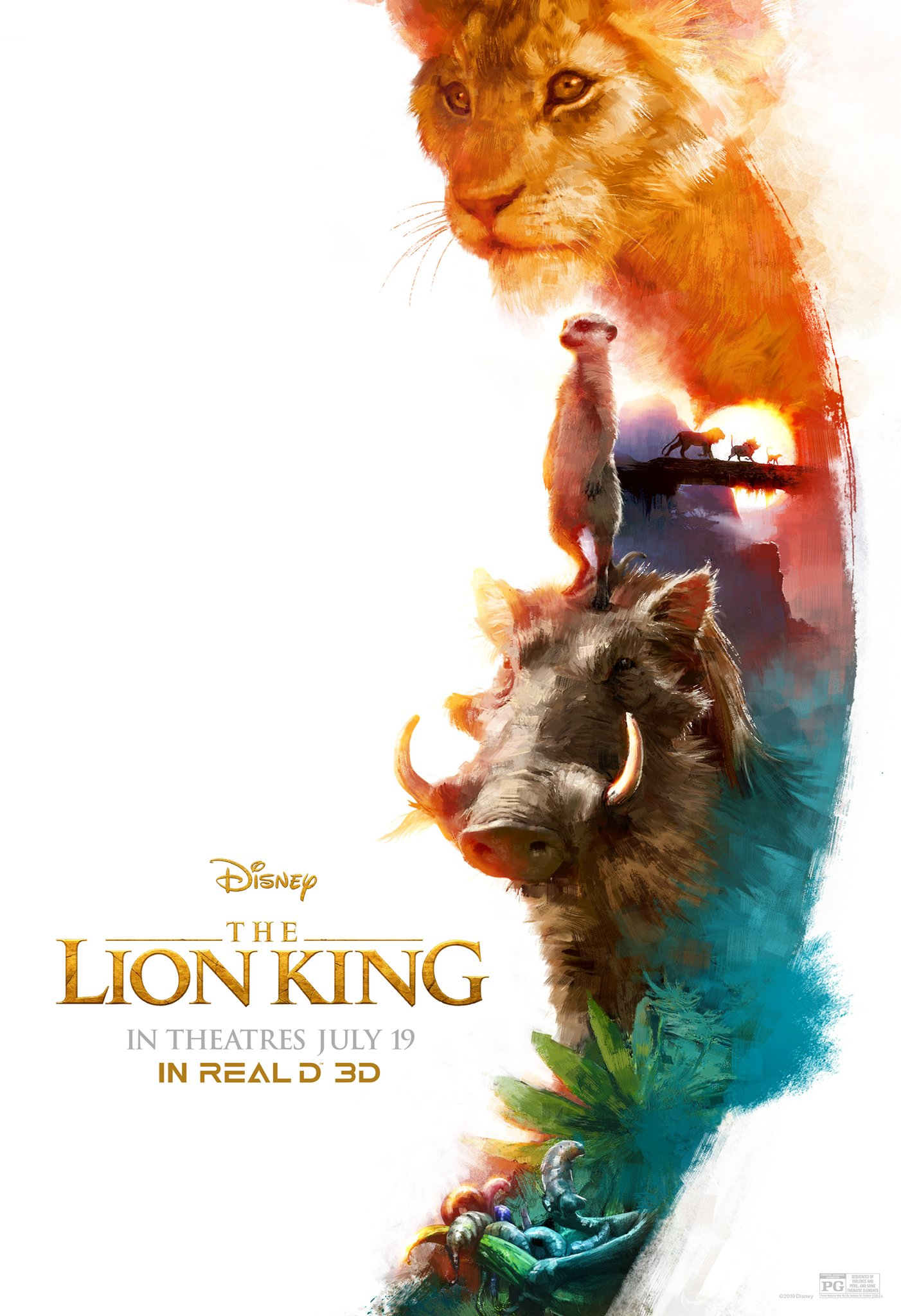 The Lion King RealD 3D Poster