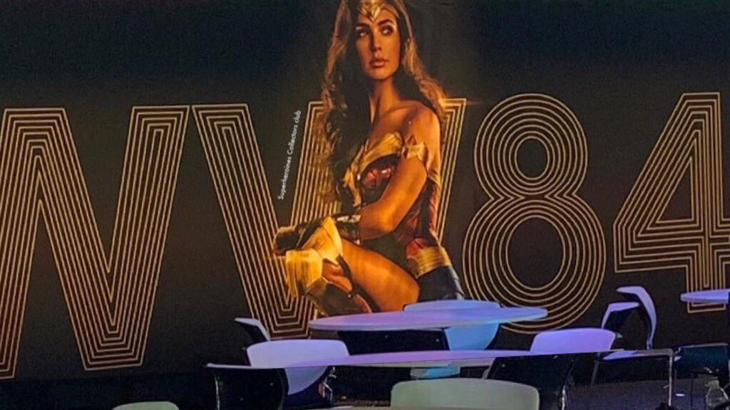 Wonder Woman 84 Licensing Expo Retro Banner