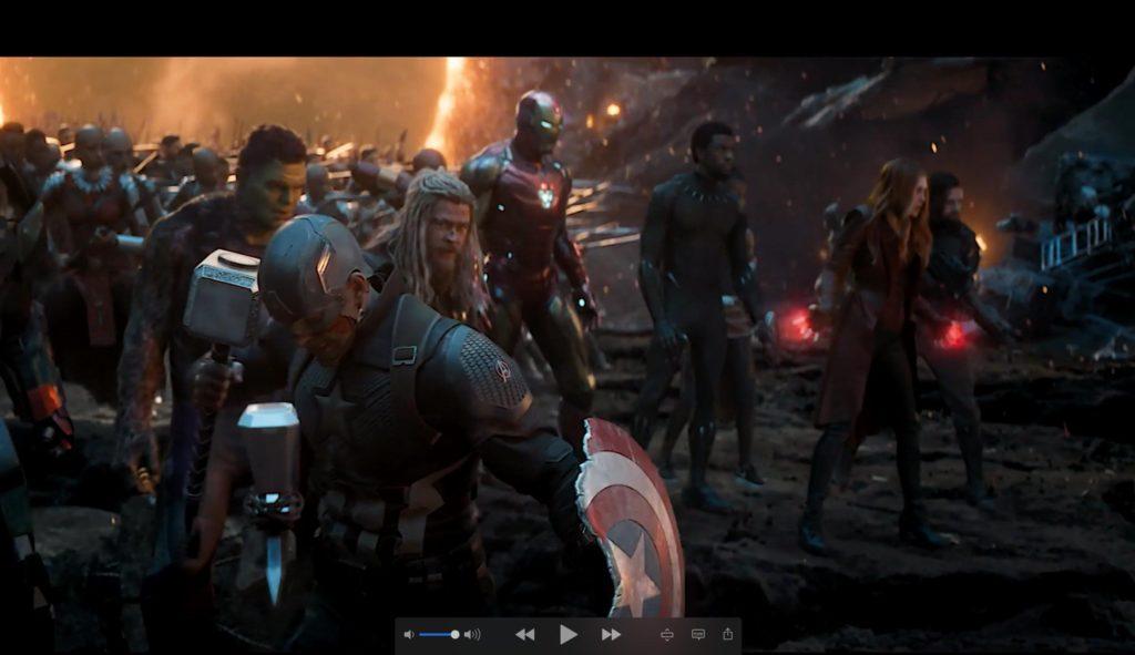 Avengers Endgame Blu-Ray IMAX Edition Still 3 - Avengers Assemble