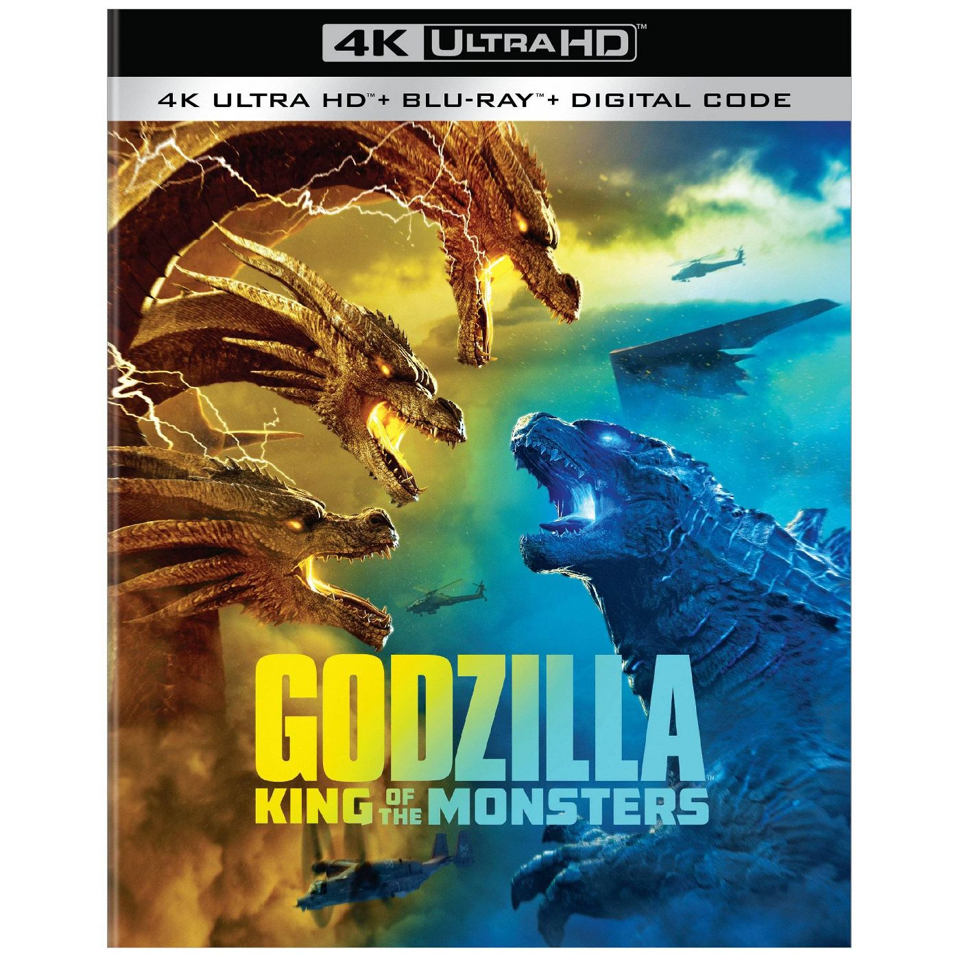 Godzilla 2 King of the Monsters 4K Ultra HD Cover