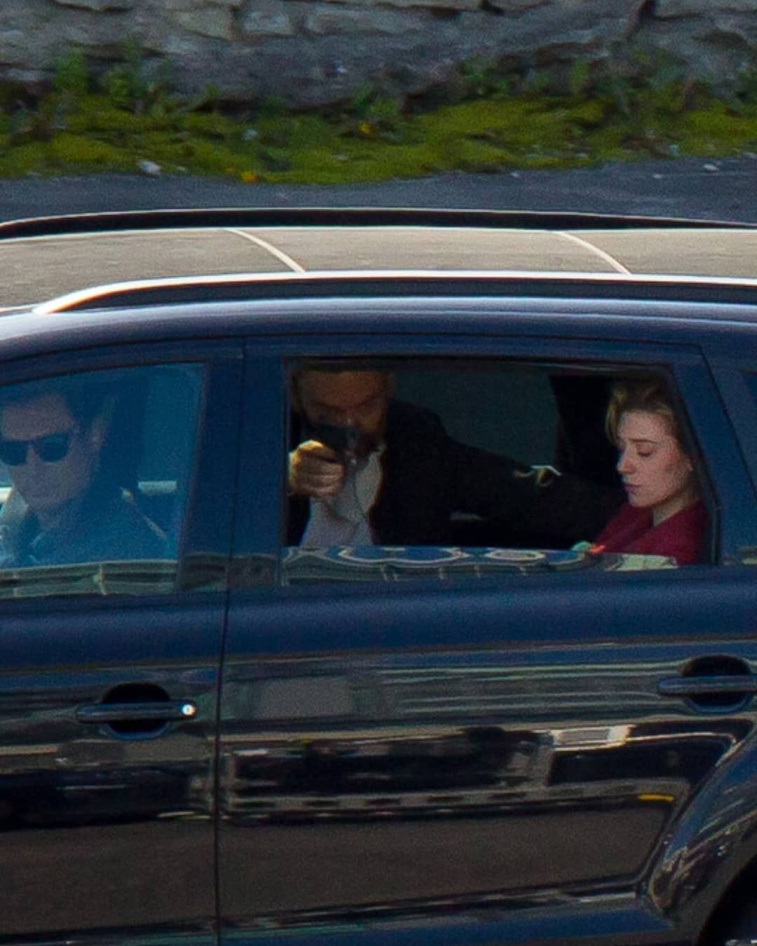 Tenet Set Photos Show Elizabeth Debicki, Cars Moving