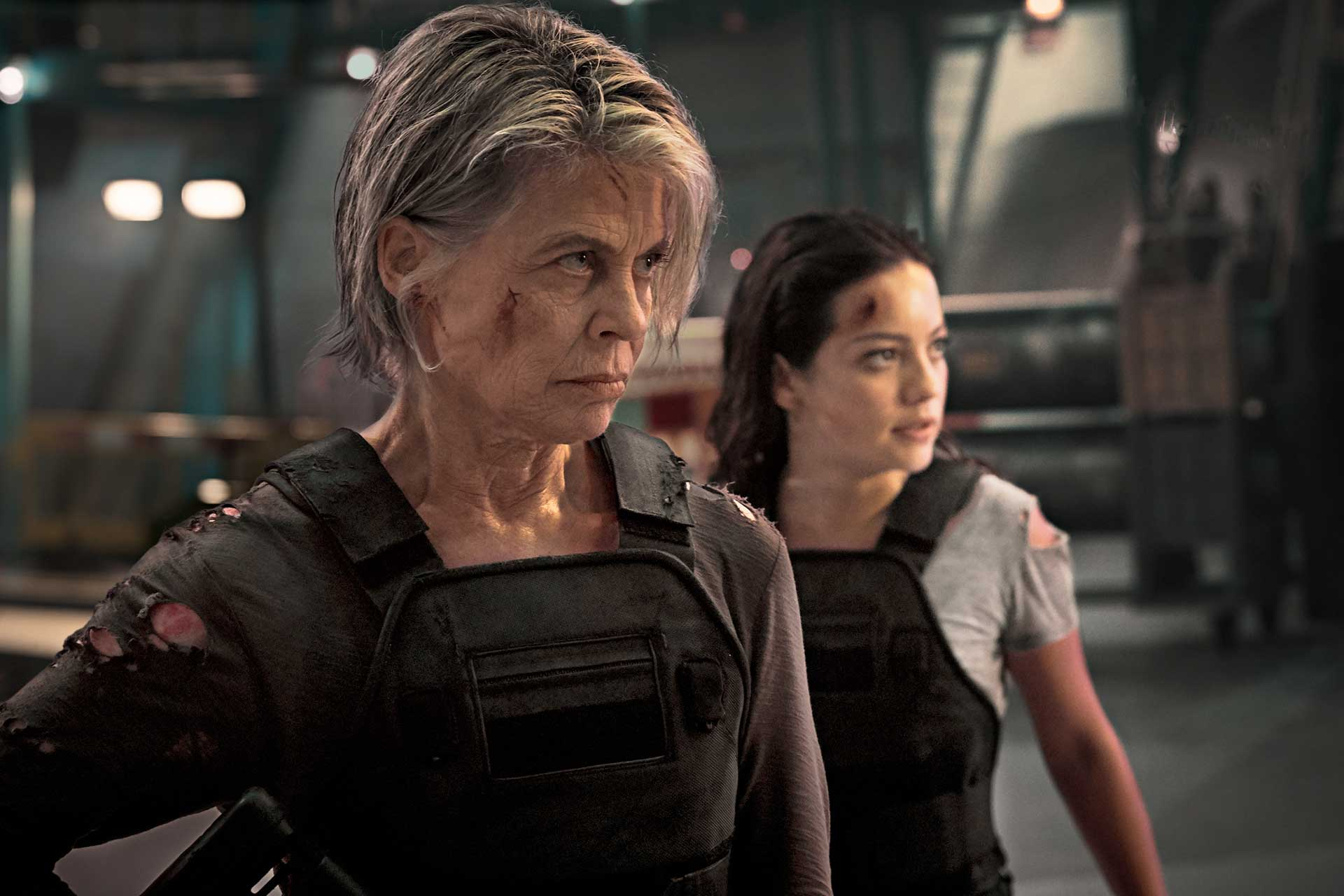 Terminator Dark Fate Still 1 - Sarah Connor Dani Ramos