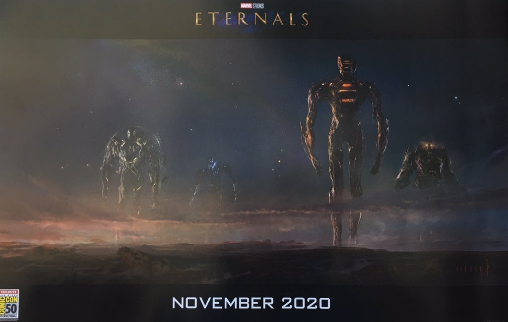 The Eternals Concept Art Celestials SDCC 2019