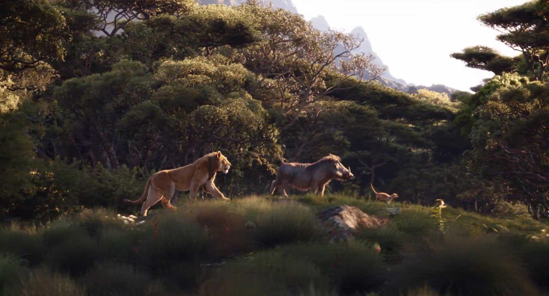 The Lion King 2019 Still - Hakuna Matata