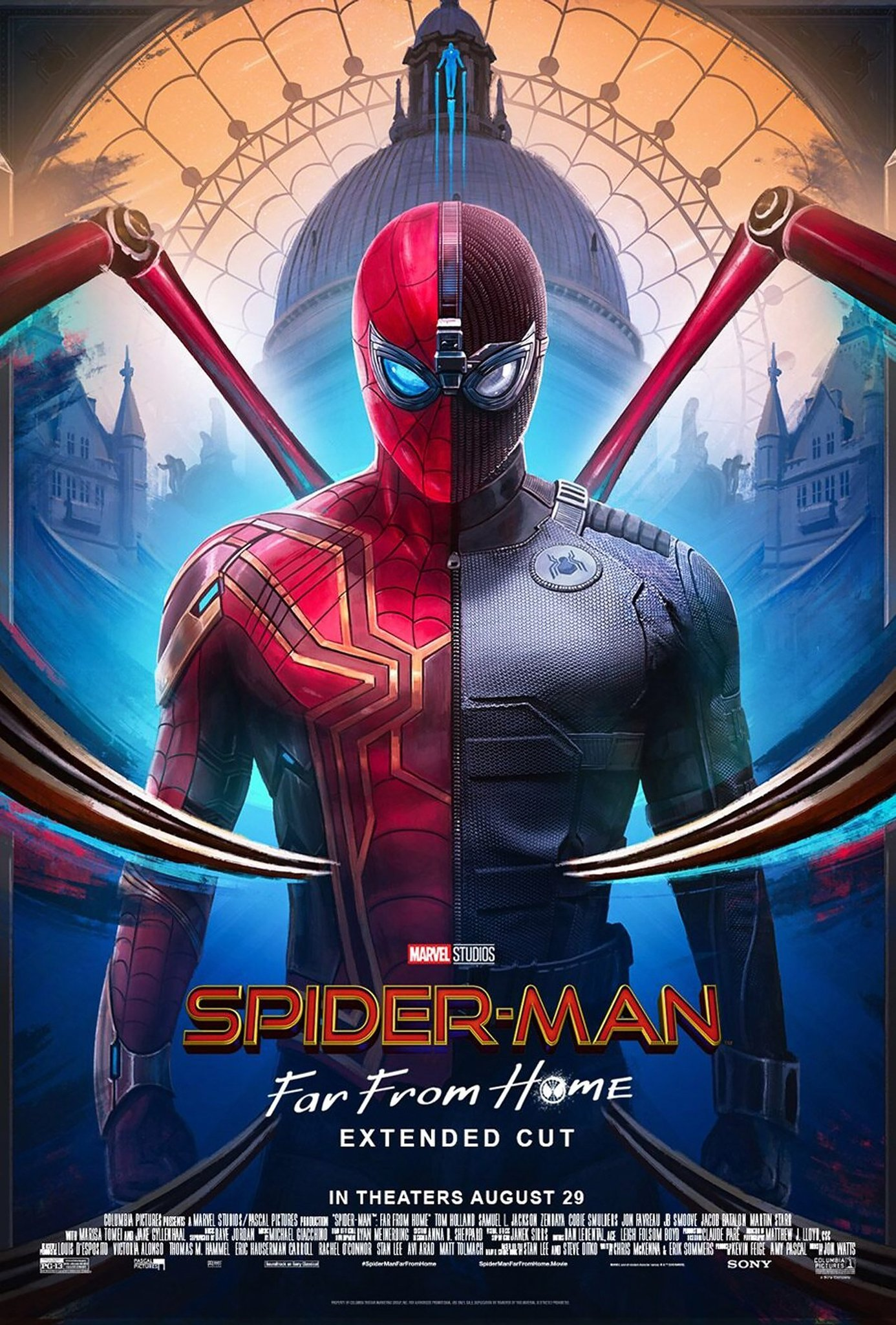 Spider-Man Far From Home Extended Cut Poster
