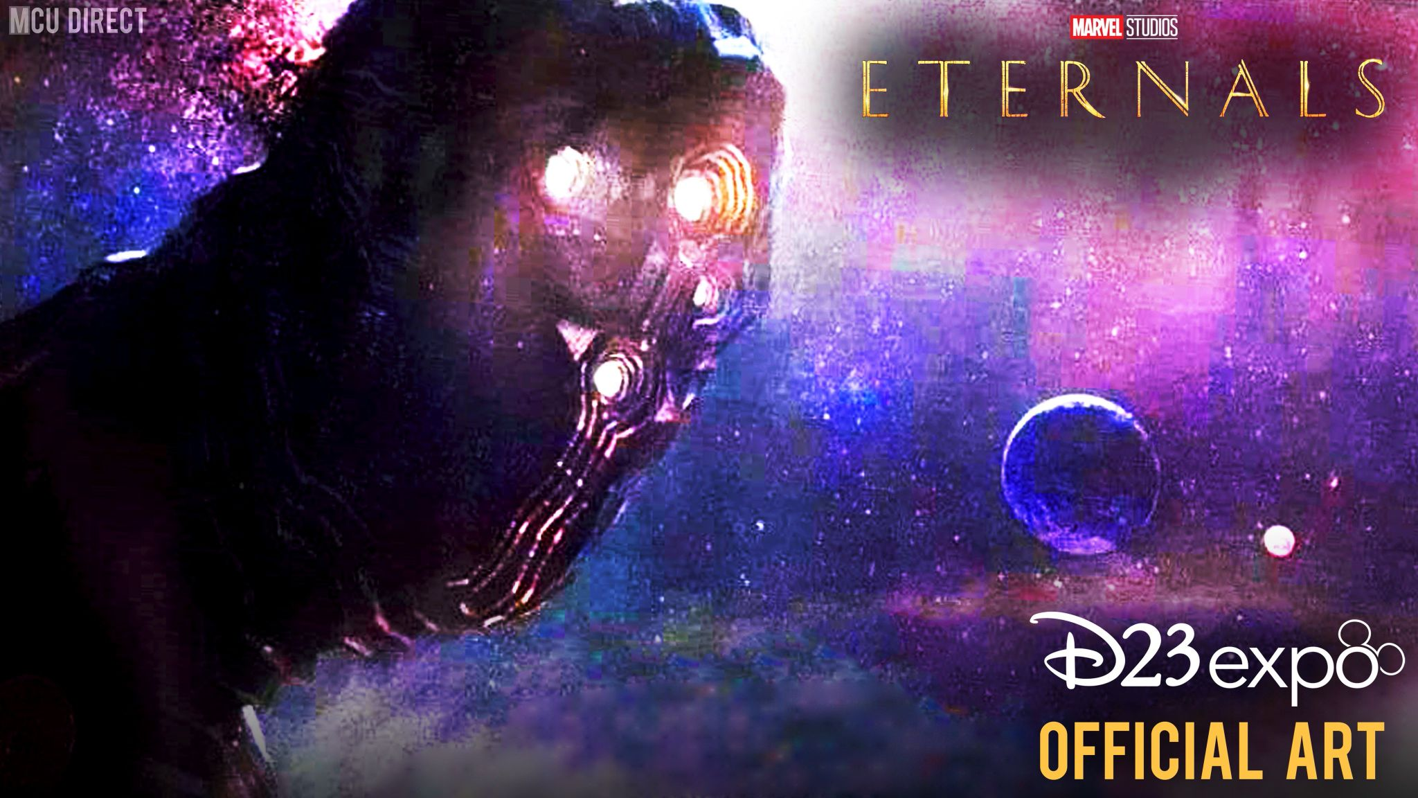 The Eternals Celestial Concept Art D23