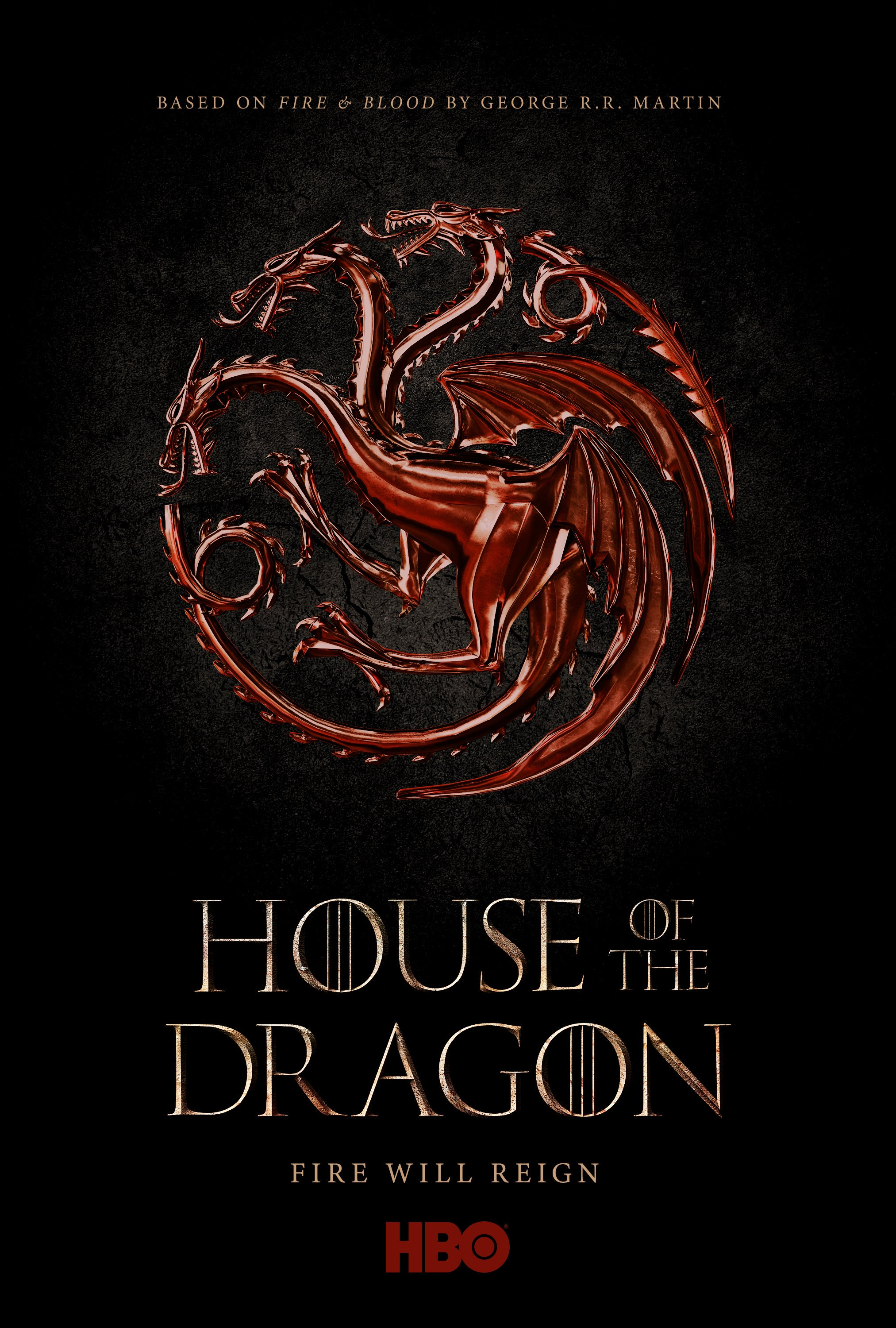 House of the Dragon Announcement Poster