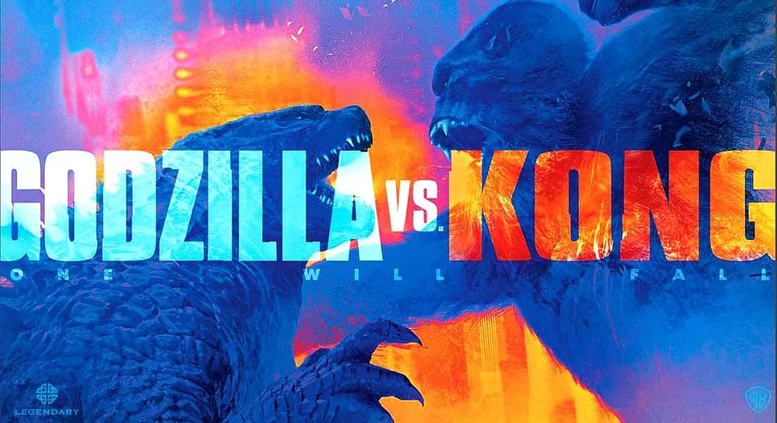 Godzilla vs Kong Licensing Expo Banner