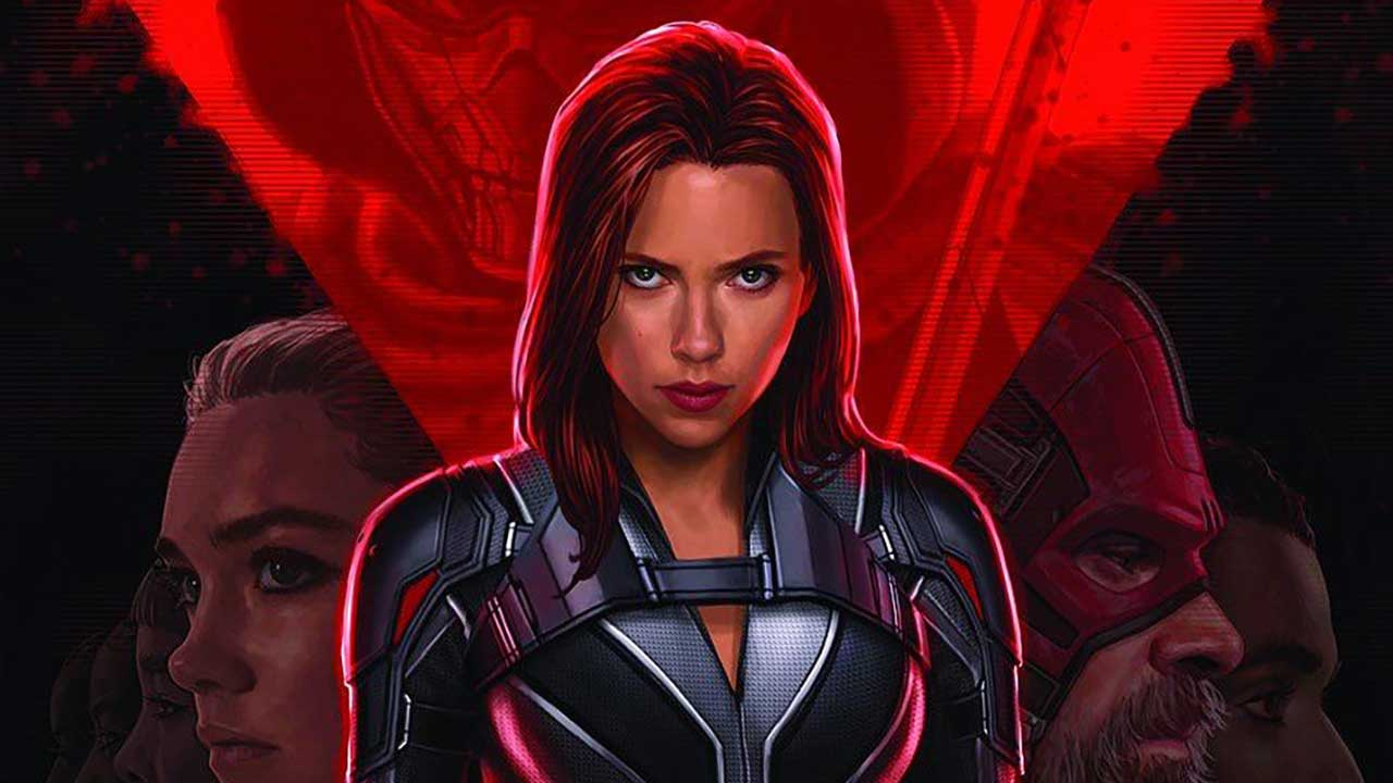 Black Widow Poster From D23 Released In Hi Res Trailer