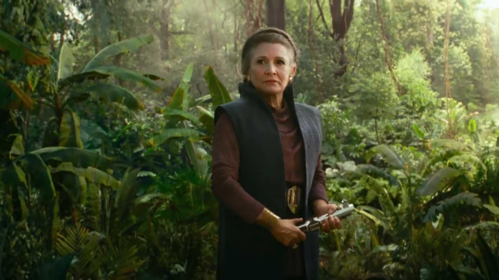 Carrie Fisher Appears In New Star Wars The Rise Of Skywalker Tv Spot Appocalypse