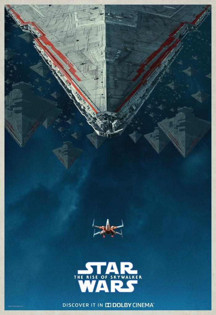 Star Wars The Rise Of Skywalker Dolby Poster