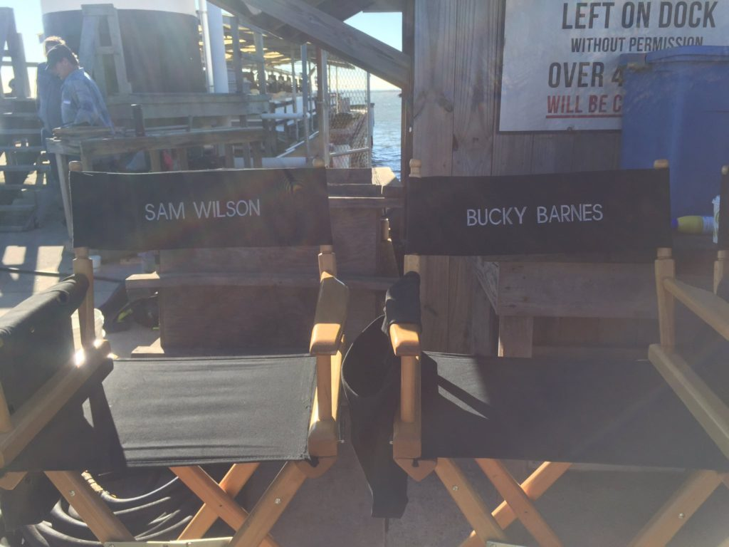 The Falcon And The Winter Soldier Set Photo 1 - Sam Wilson Bucky Barnes