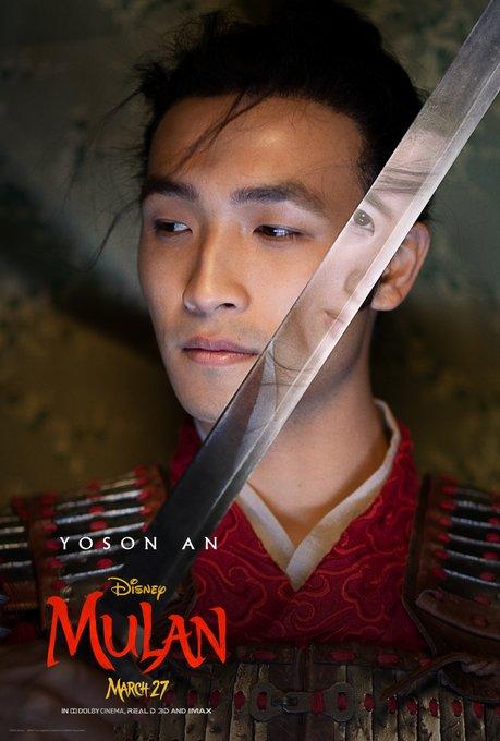 Mulan Character Poster Yoson An