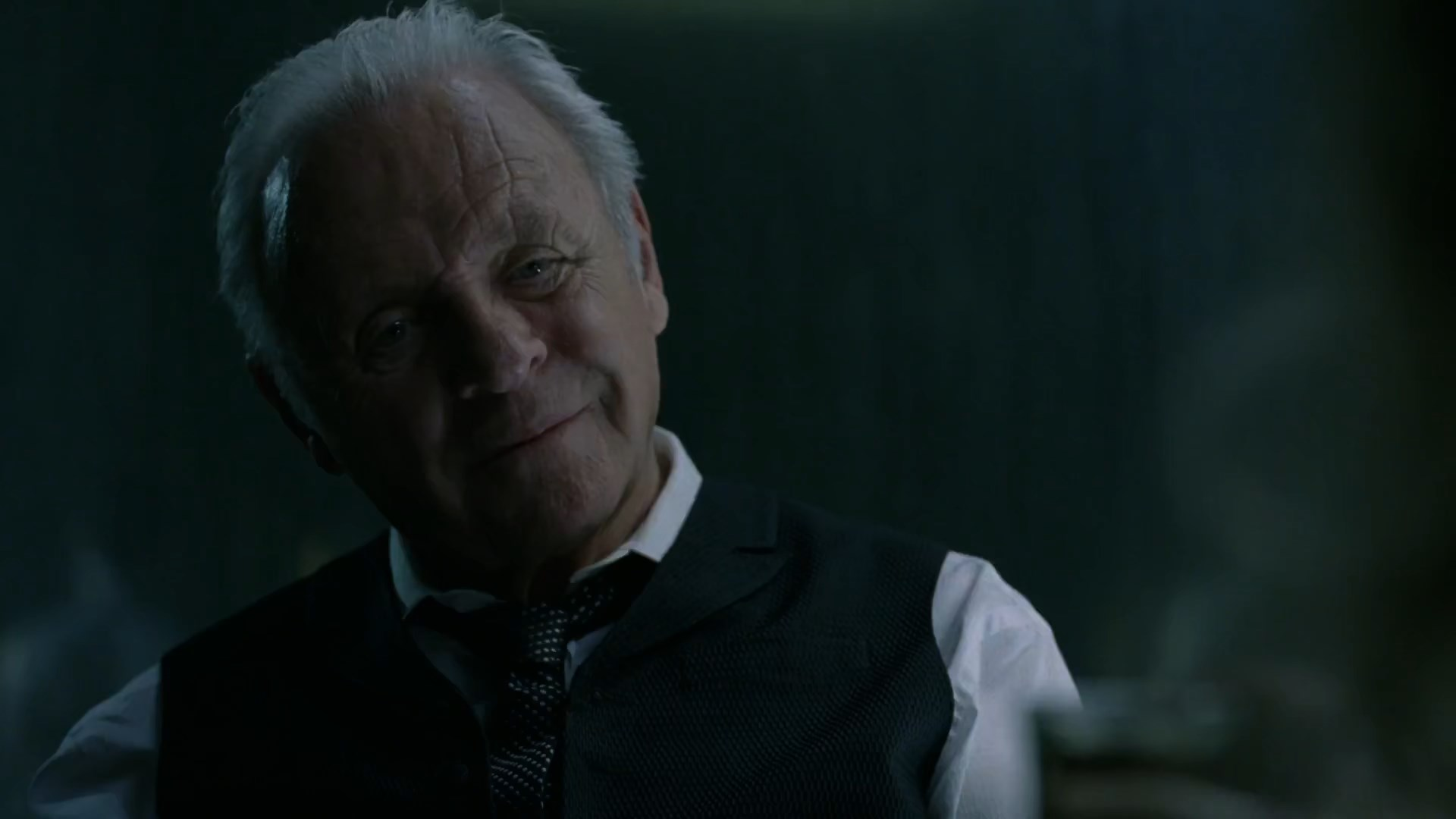 Westworld S01E01 Robert Ford Anthony Hopkins