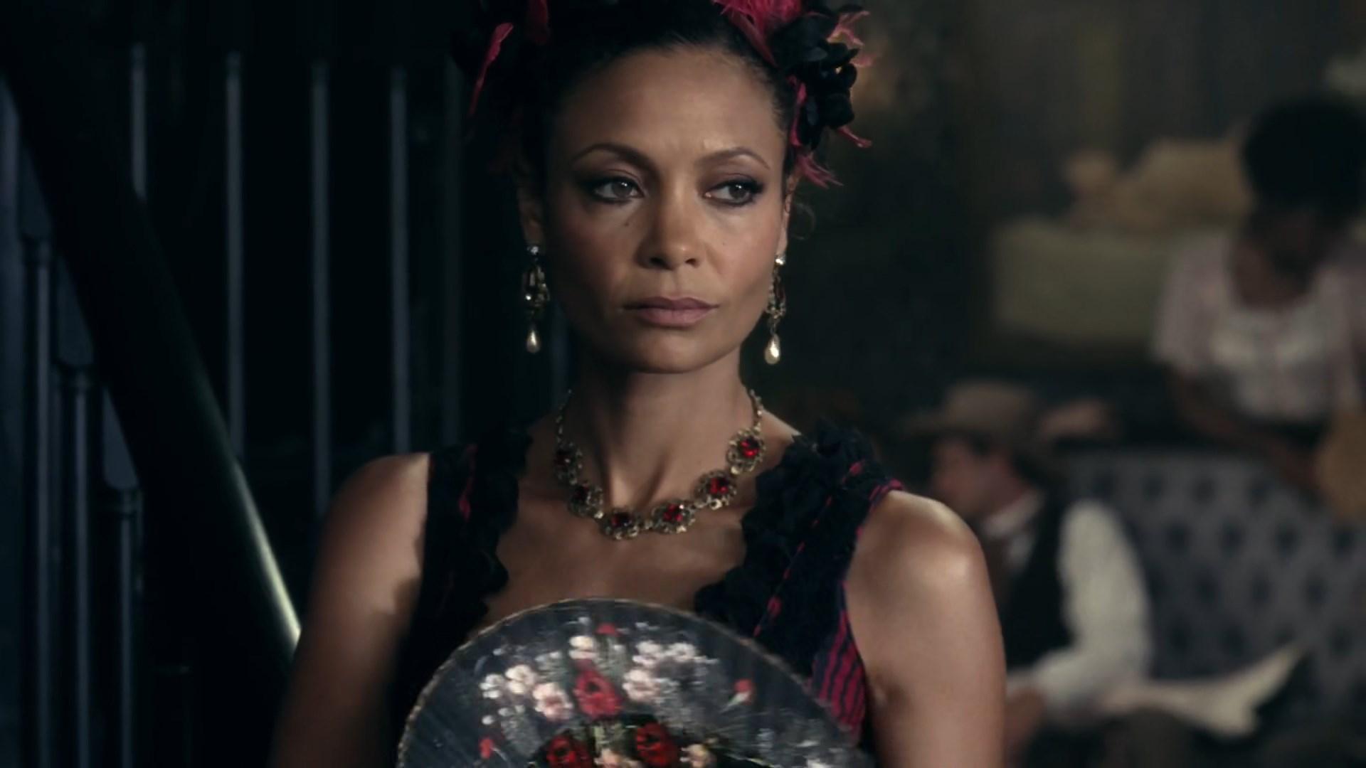 Westworld S01E02 Maeve Thandie Newton
