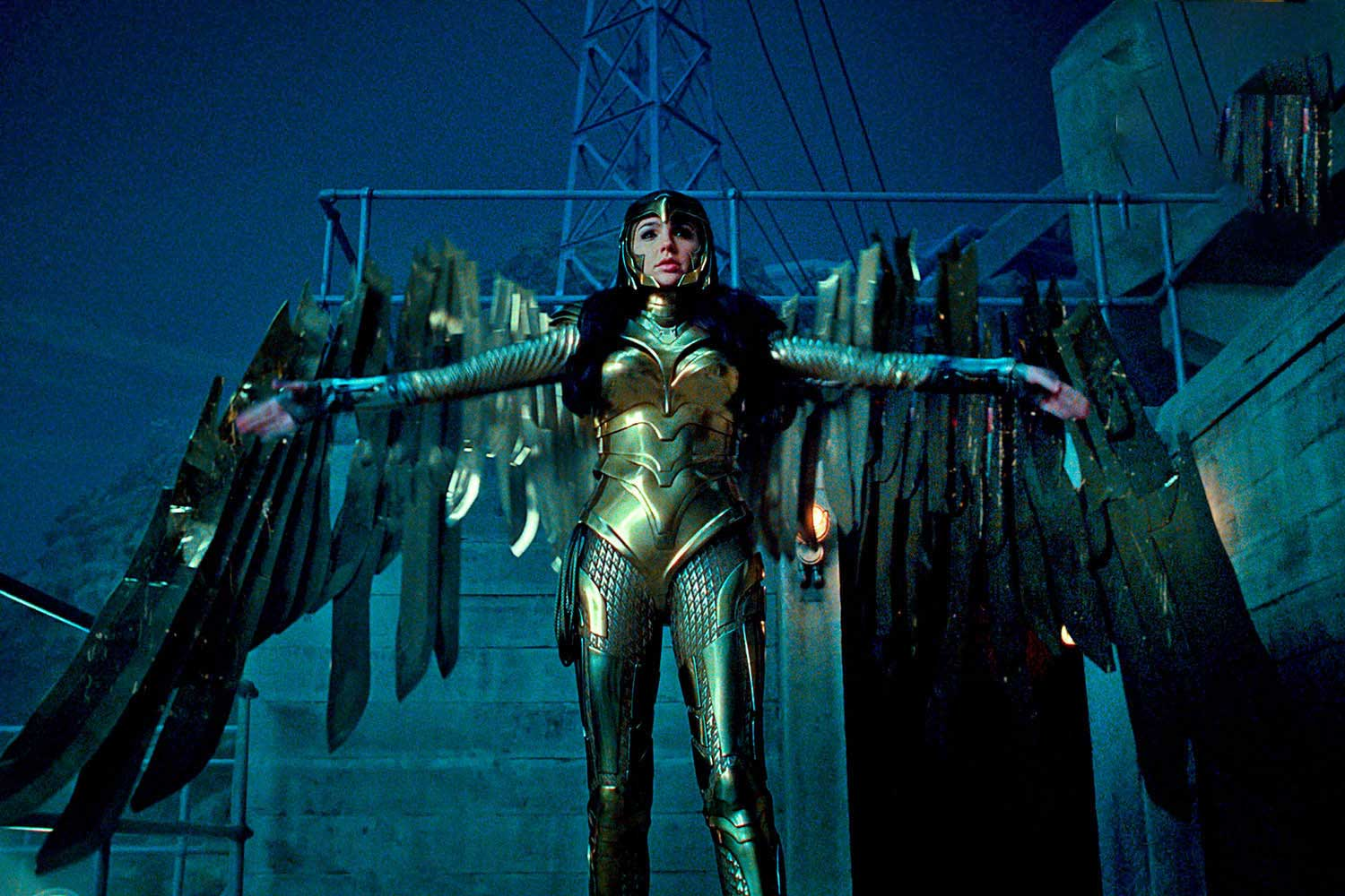 Wonder Woman 1984 Promotional Still Golden Armour