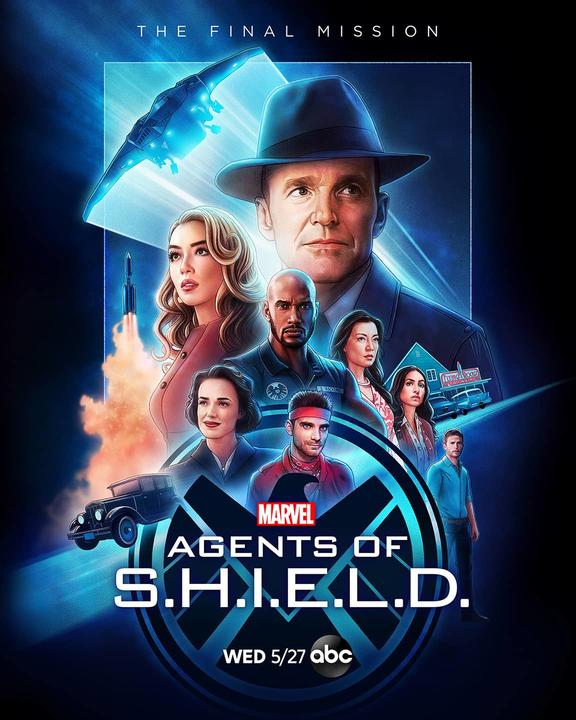Agents of SHIELD Season 7 Time Travel Poster