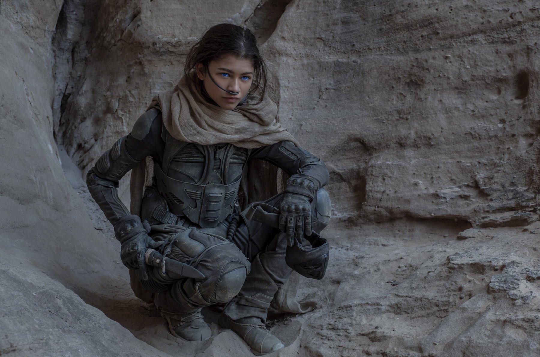 Dune Still 11 Zendaya as Chani