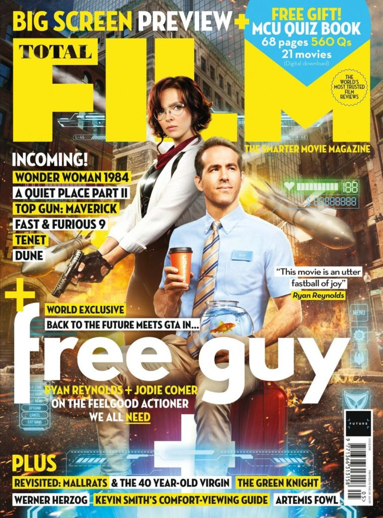 Free Guy Total Film Magazine Cover