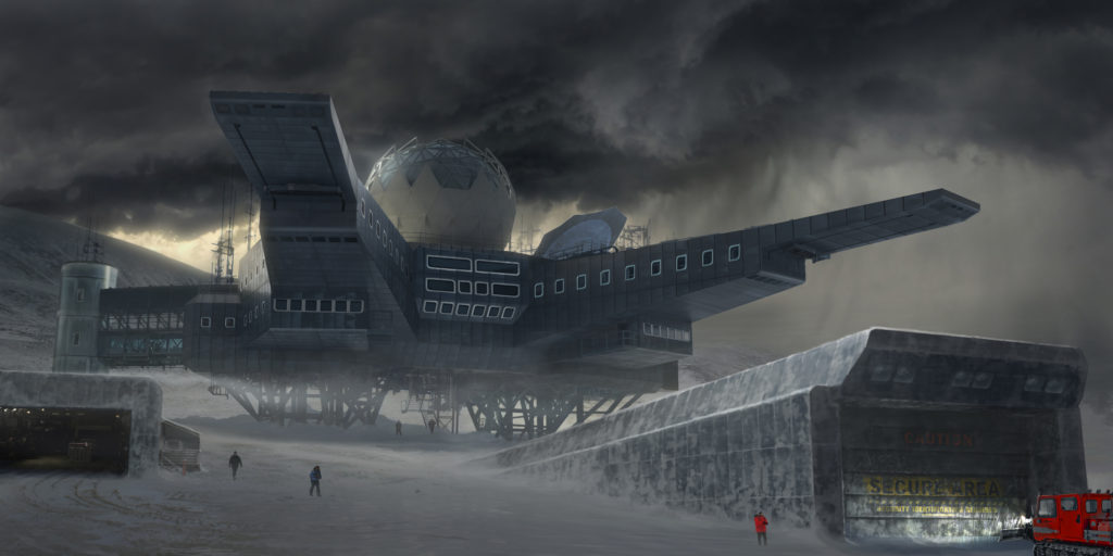 Godzilla King Of The Monsters Concept Art 09 - Monarch Outpost 32