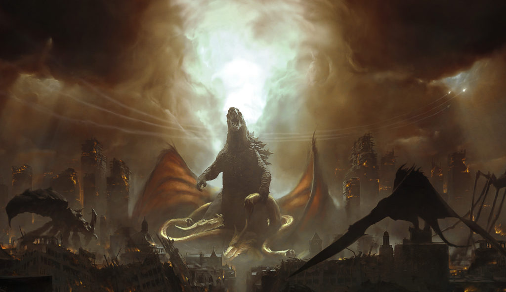 Godzilla King Of The Monsters Concept Art 21 - All Hail The King