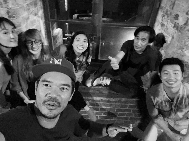 Shang Chi Cast Photo On Set