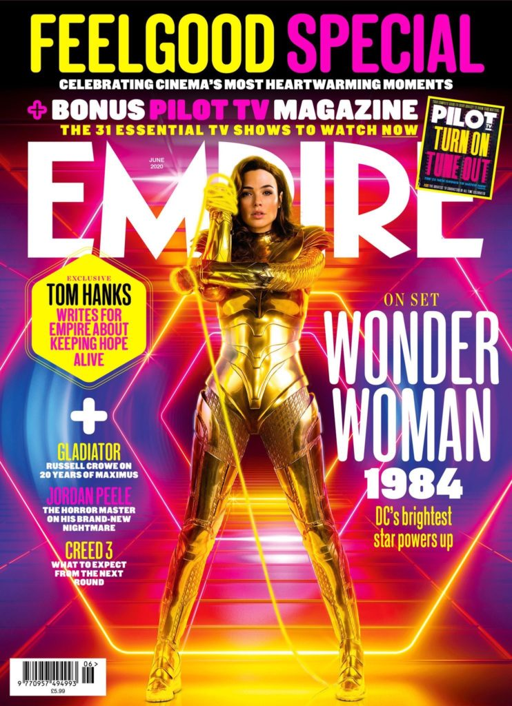 Wonder Woman 1984 Empire Magazine Cover 1